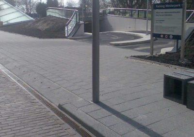 Rotterdam Westerlaan inrit parkeergarage